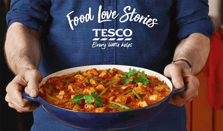 tesco food stories