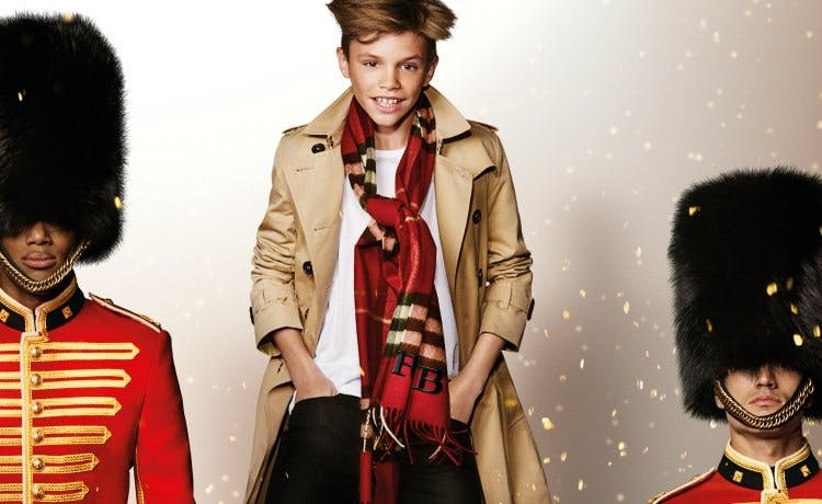 Burberry's marketing strategy draws heavily on its British heritage