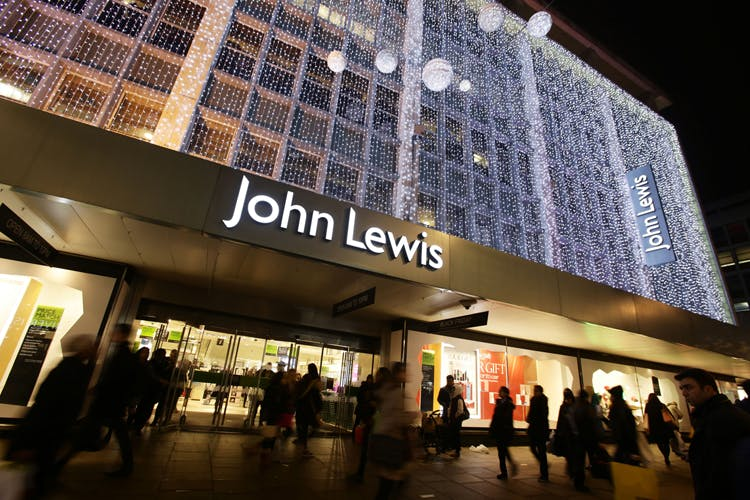 John Lewis profits drop by half as restructuring takes its toll