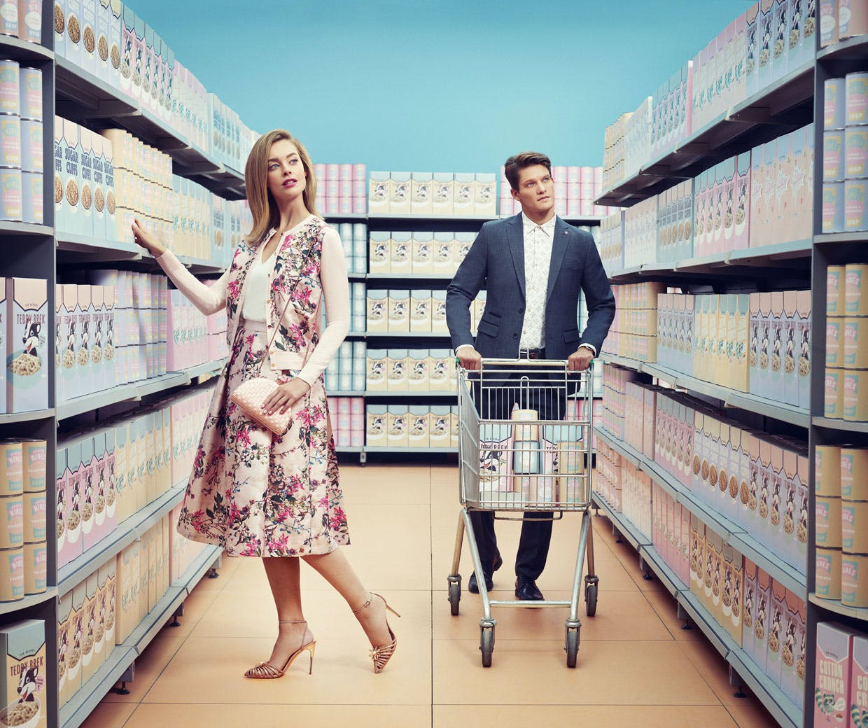 54e0125b6c9c2 Ted Baker uses Instagram for episodic storytelling in  Keeping up with the  Bakers  campaign
