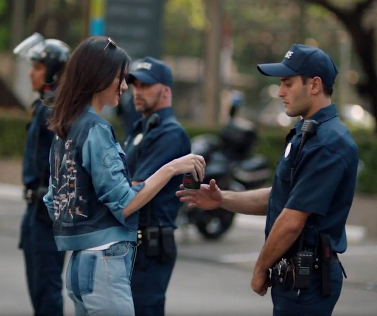 Reducing The Current Global Protest Movement To A Supermodel Handing Out  Cans Of Pepsi Feels Terribly Misjudged, According To Marketing Weeku0027s  Thomas Hobbs.