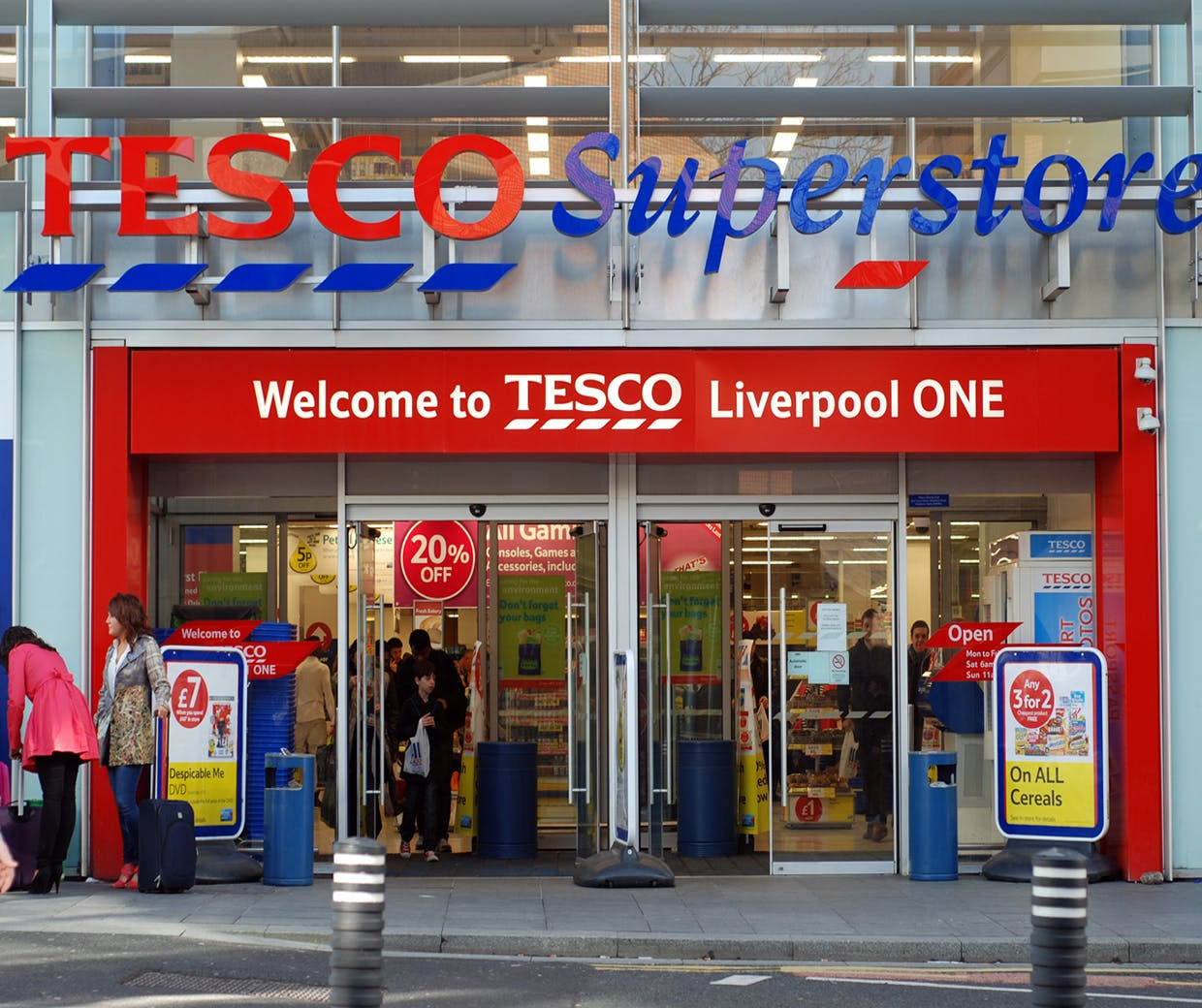 Tesco admits inflation is causing a 'resurgence' for Aldi & Lidl