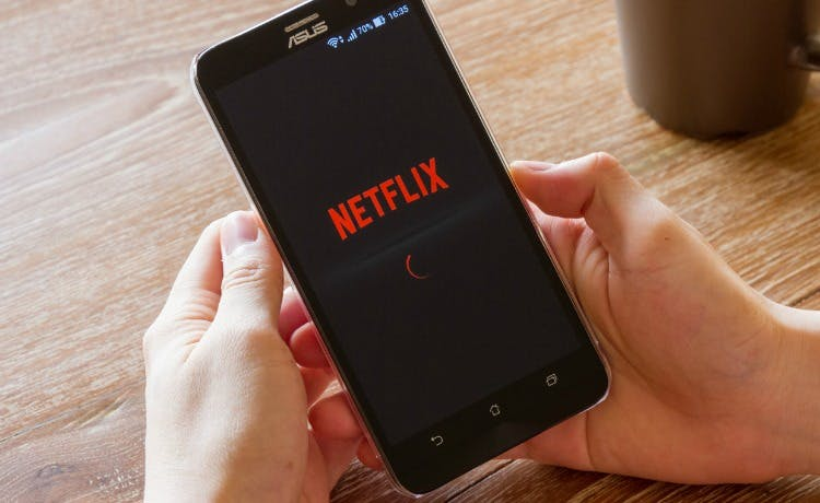 Netflix shares on track for worst day in five months