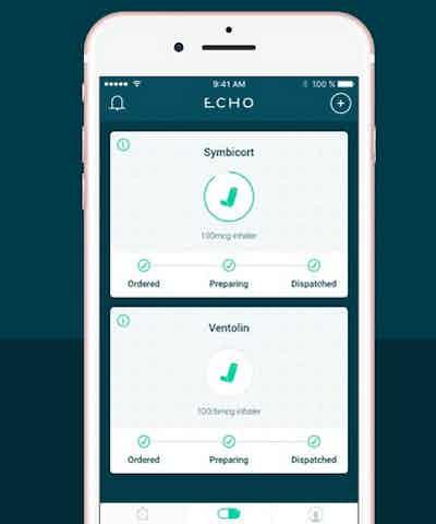 Echo app 100 Disruptive Brands