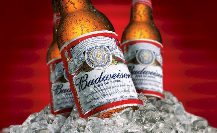 Budweiser is one the beer brands owned by AB InBev.