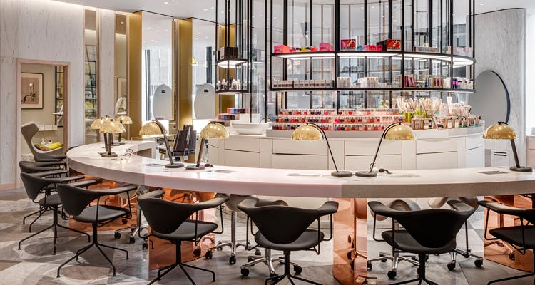 harvey nichols nail bar