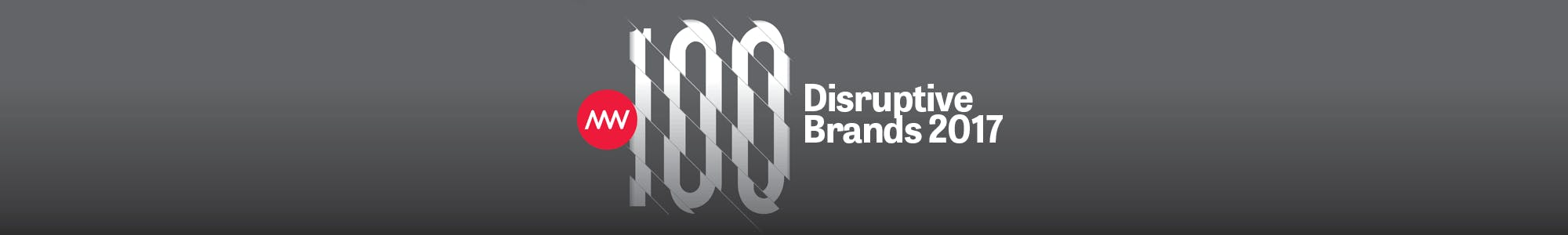 100 Disruptive Brands 2017
