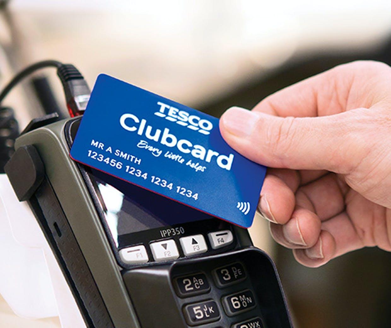 tesco clubcard