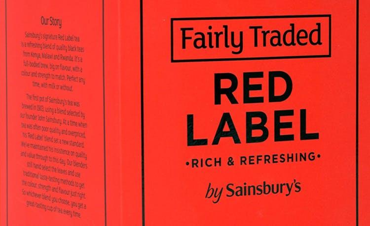 Sainsbury's Fairly Traded tea