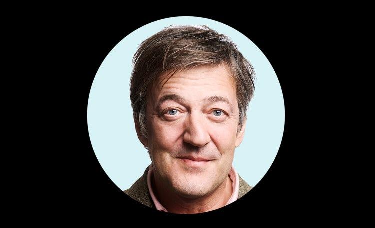 Stephen Fry: 'If we sleepwalk into AI we're in great danger