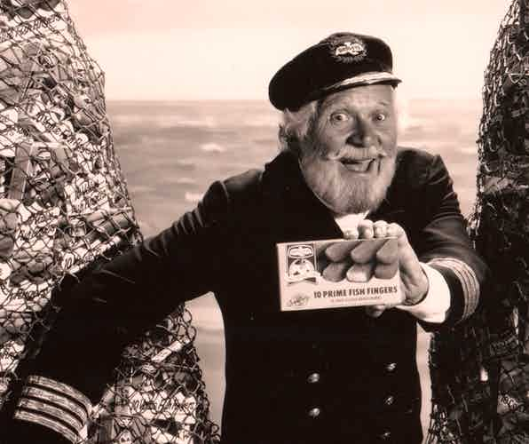 Captain Birdseye Old Advert