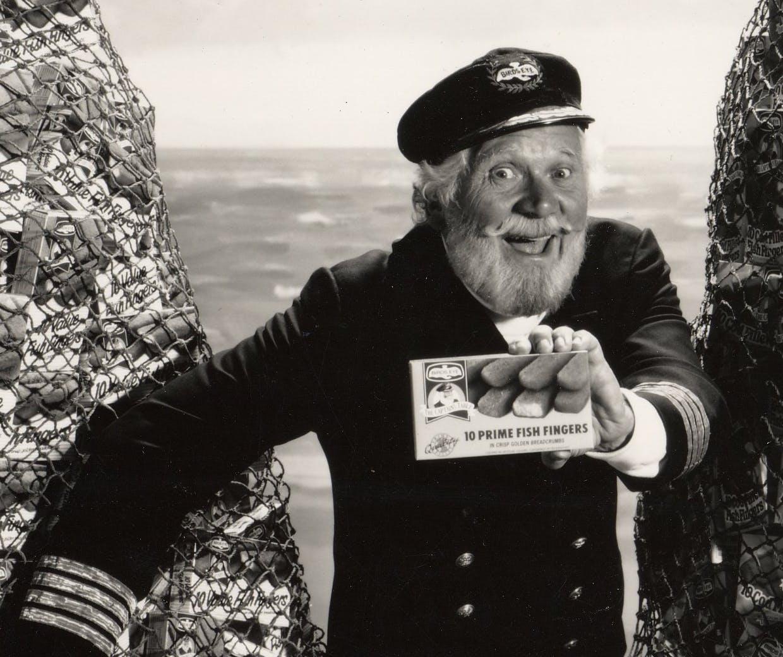 Captain Birdseye Old Advert