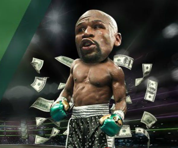 Paddy Power Mayweather ad