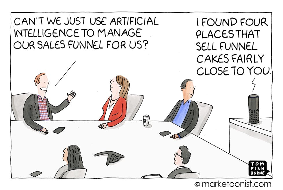 marketoonist on artificial intelligence
