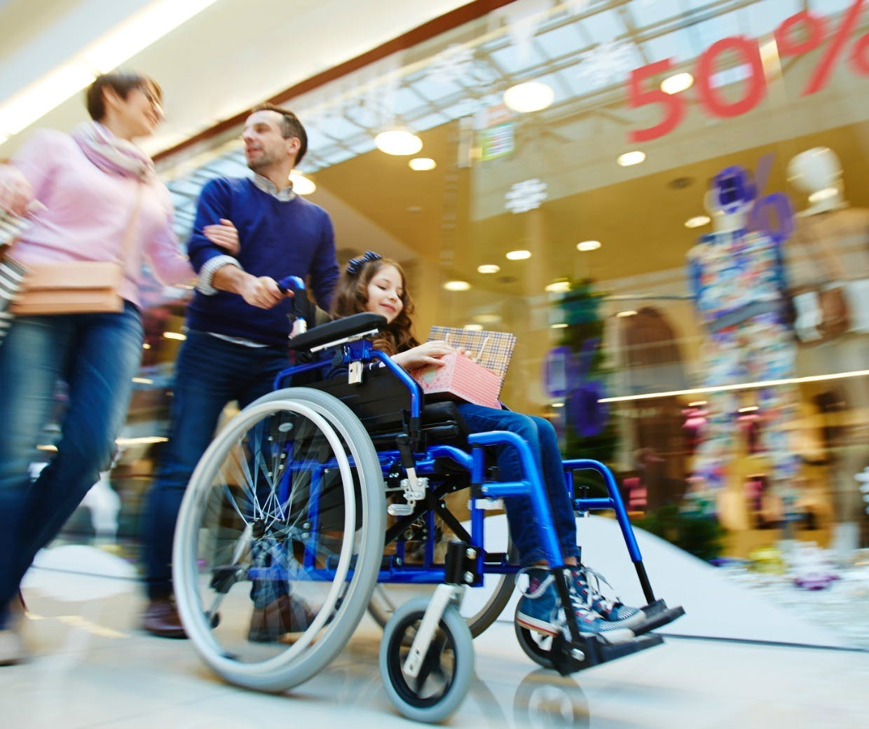 Disabled consumers