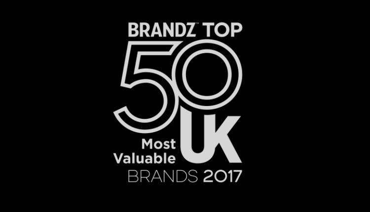 BrandZ UK top 50