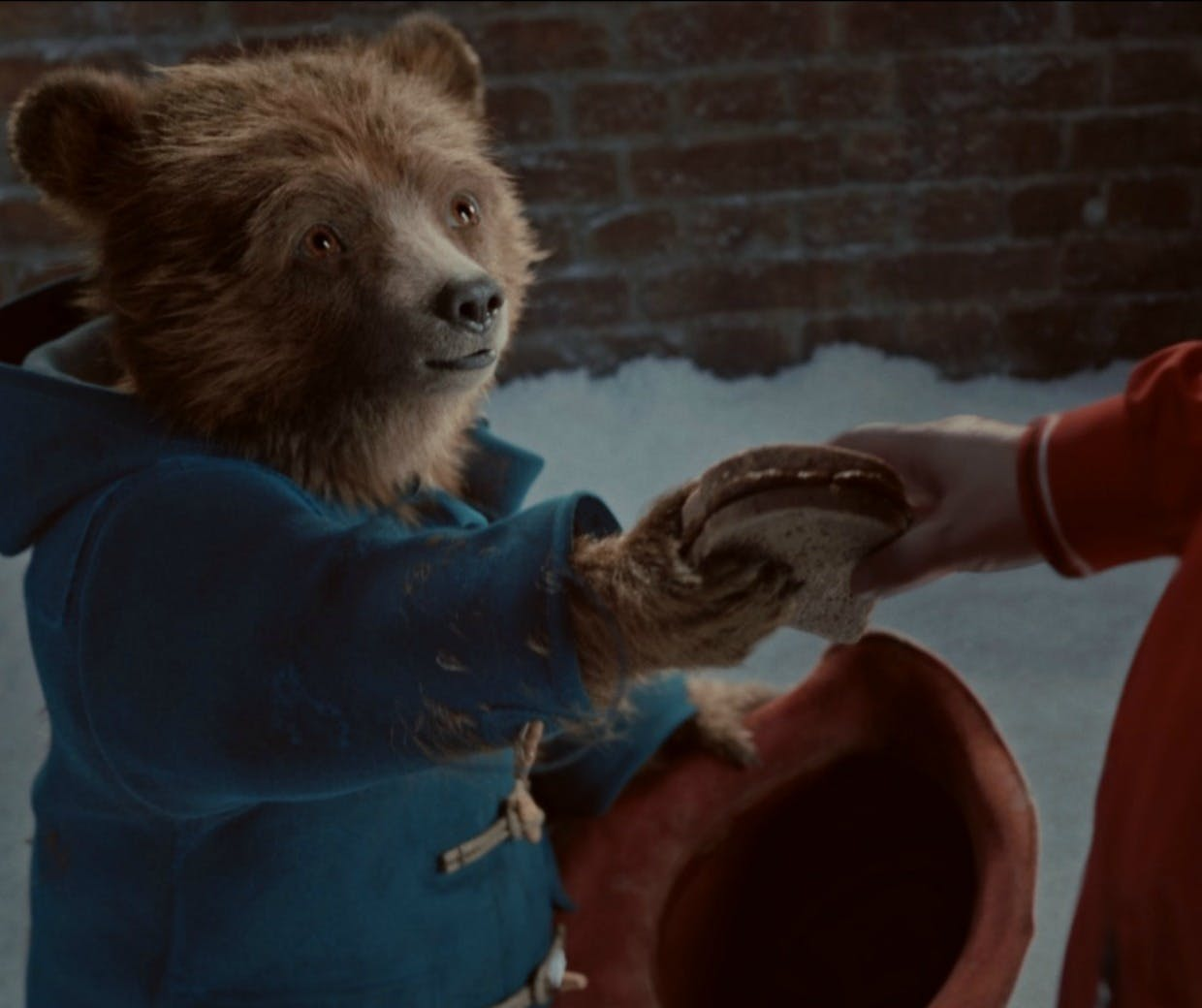 Marks & Spencer's Christmas campaign featuring Paddington bear
