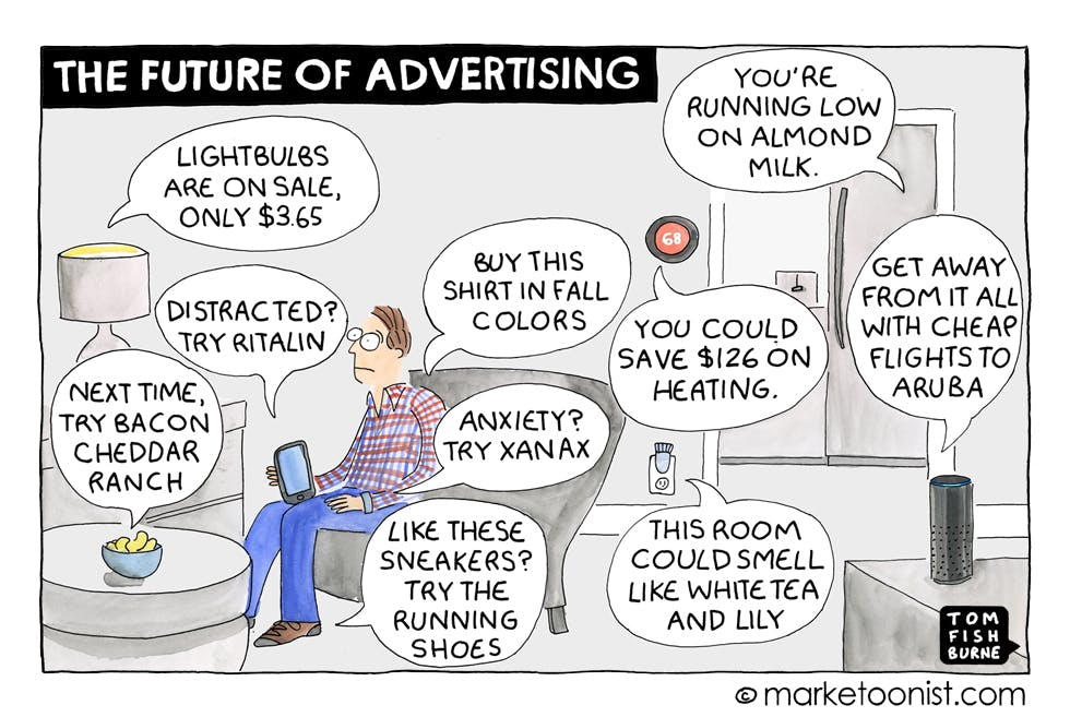 marketoonist on the future of advertising