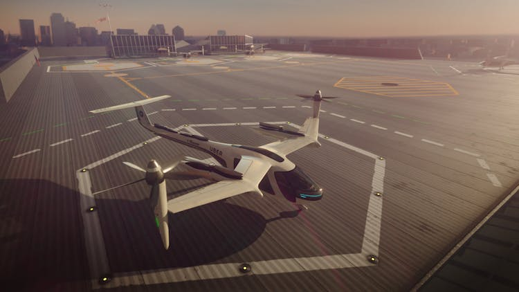 NASA is working with Uber on its flying taxi project