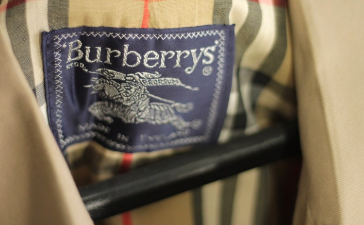 Burberry repositioning