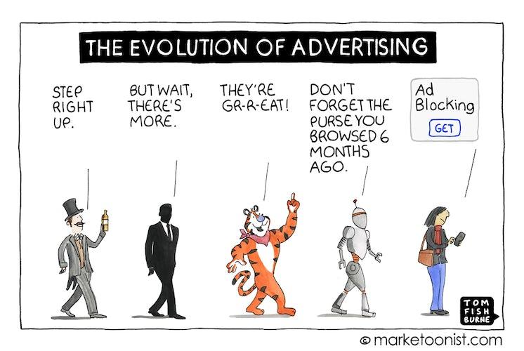 marketoonist on the evolution of advertising