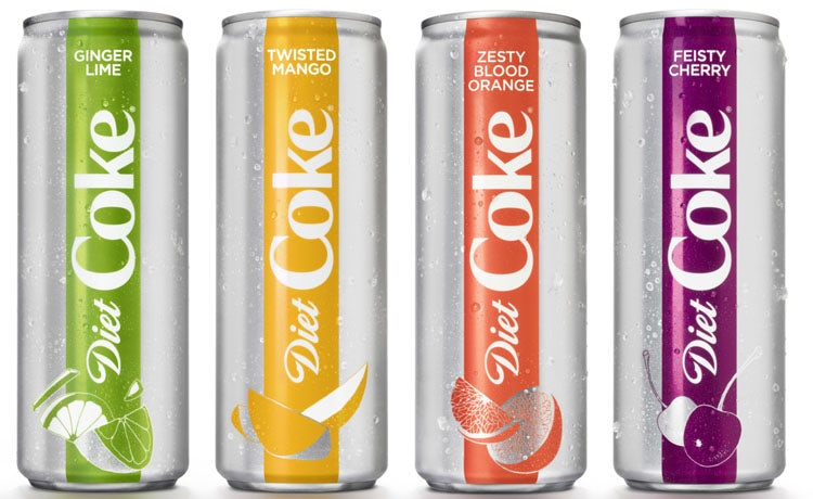 Diet Coke overhaul