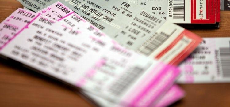 secondary-ticketing websites