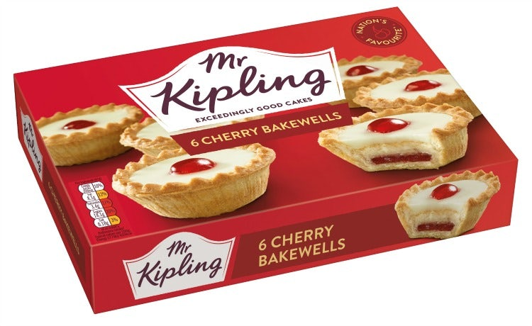 Mr Kipling Cherry Bakewell