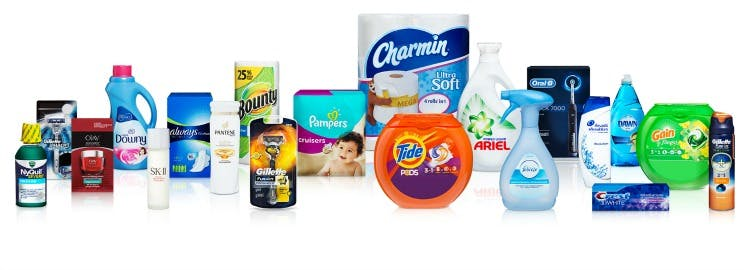 Procter & Gamble brands
