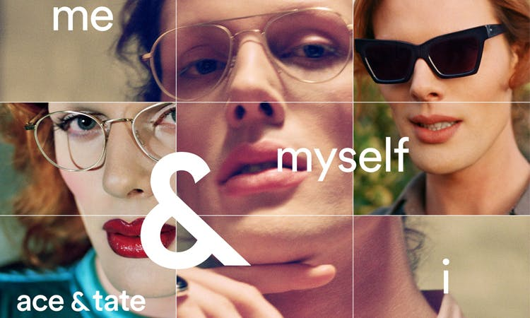 Ace & Tate marketing campaign