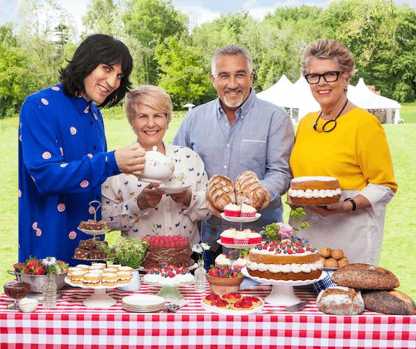 Amazon sponsors The Great British Bake Off