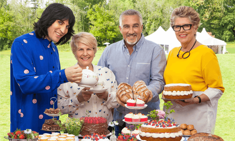 Amazon sponsors The Great British Bake Off