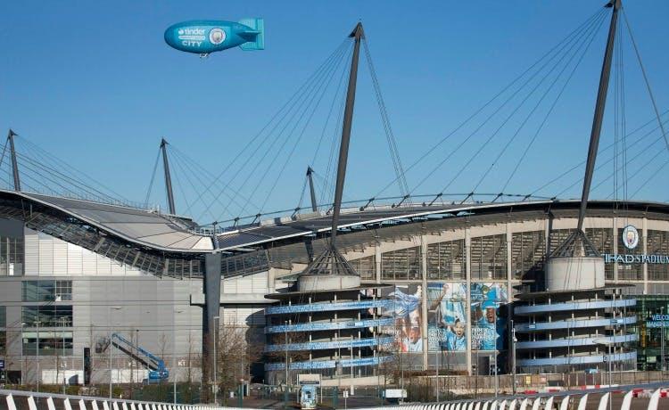 Tinder scores new partnership with Man City