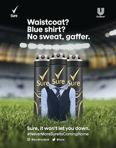 Sure World Cup ad