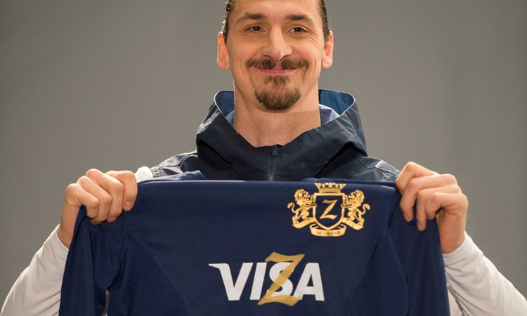 a329caf02 19 April – Zlatan Ibrahimović becomes the face of Visa's World Cup campaign