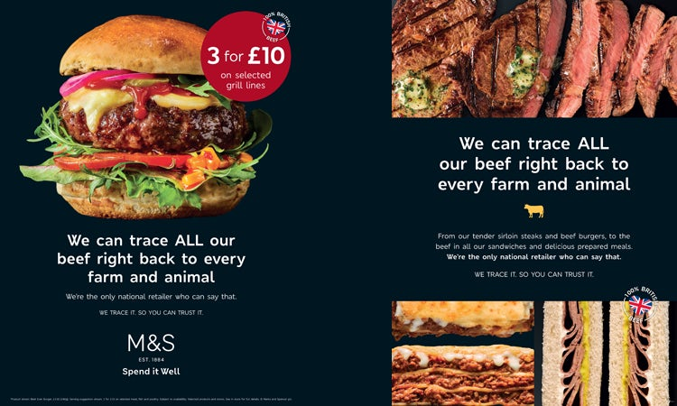 marks and spencer marketing strategy report