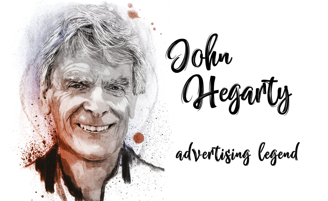 Sir John Hegarty: Creativity is receding from the world of marketing and the obsession with data is to blame
