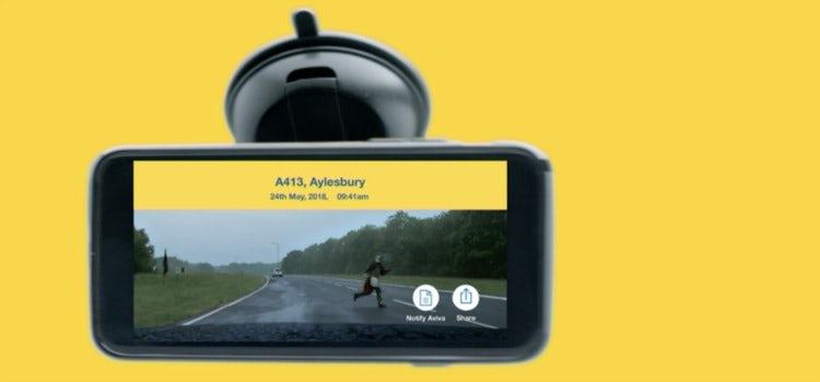 Aviva Dashcam app