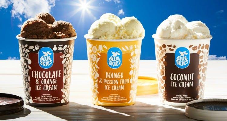 Blue Skies ice cream