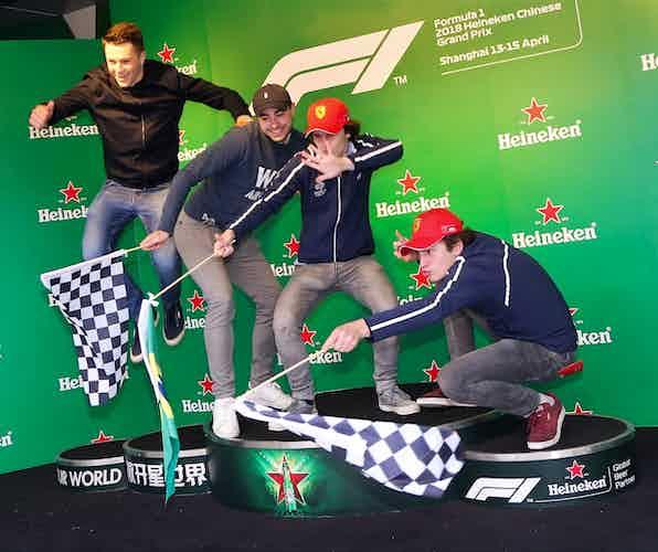Formula One Fan Zone Shanghai