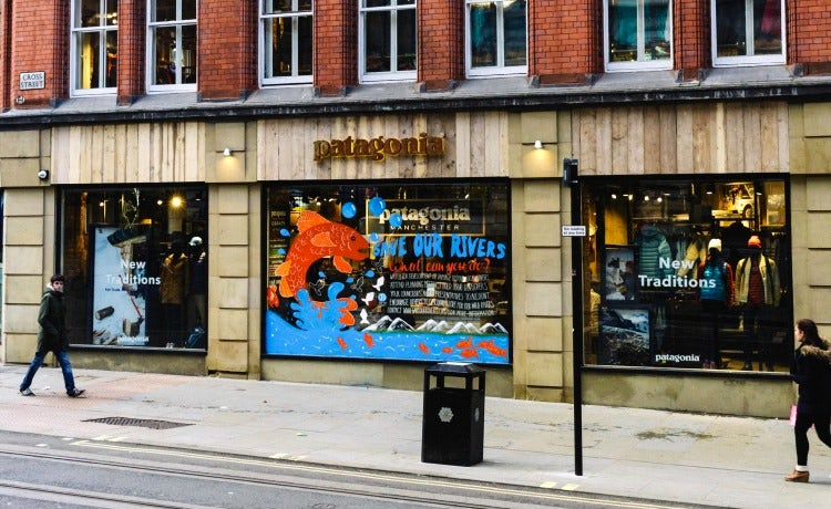 Patagonia store Manchester