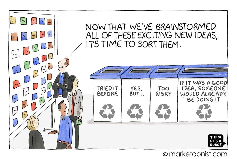 Marketoonist innovation mindsets