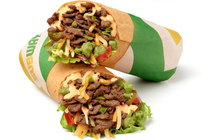 Subway Wraps