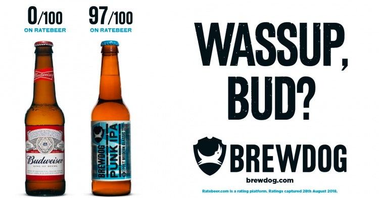 Brewdog Bud ad