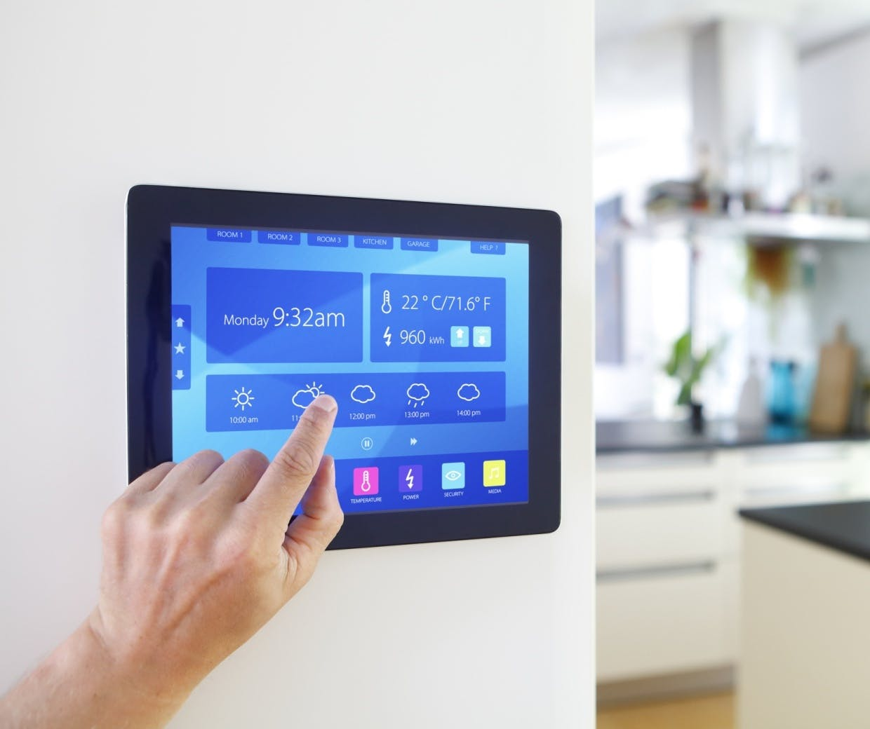 Connected home internet of things