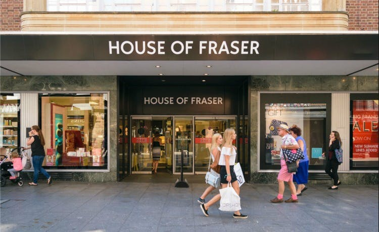 Co Op House Of Fraser Porsche Everything That Matters
