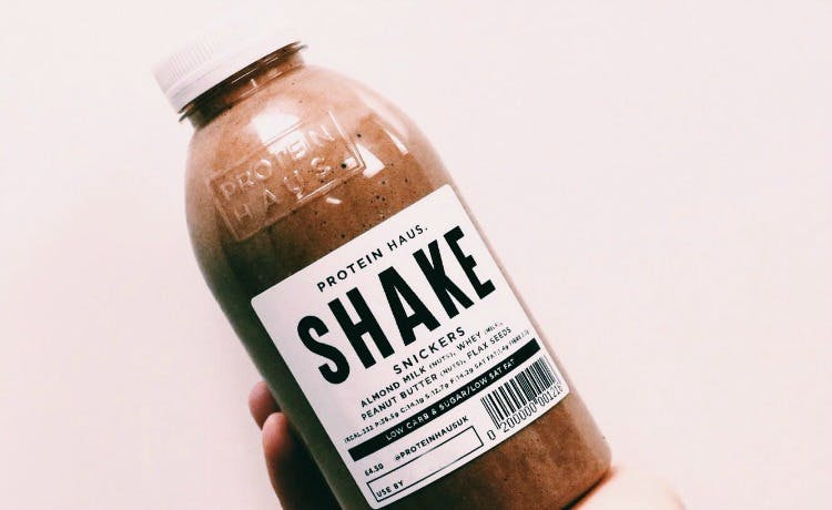 Protein-Haus-shake