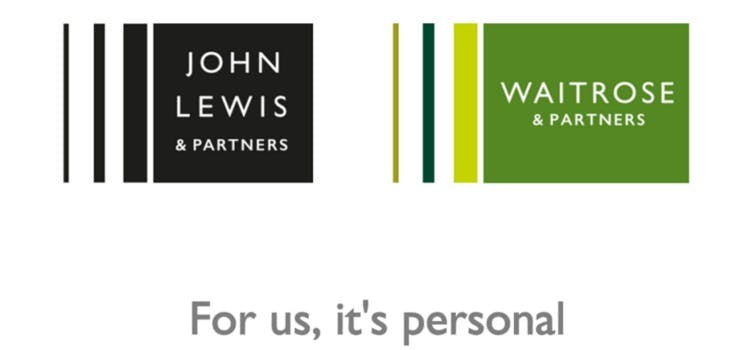 John Lewis and Waitrose rebrand