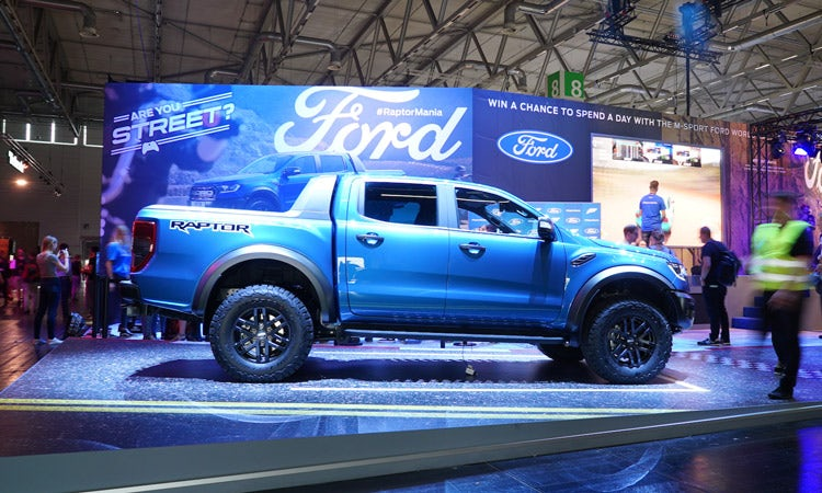 Ford Becomes First Brand To Launch A Car At A Gaming Event - Ford show car