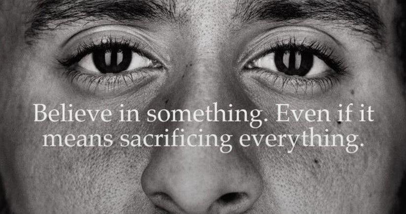 Nike Colin Kaerpernick